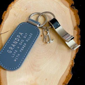 Grandpa 👴 tools 🛠 tools 🧰 can opener keychain